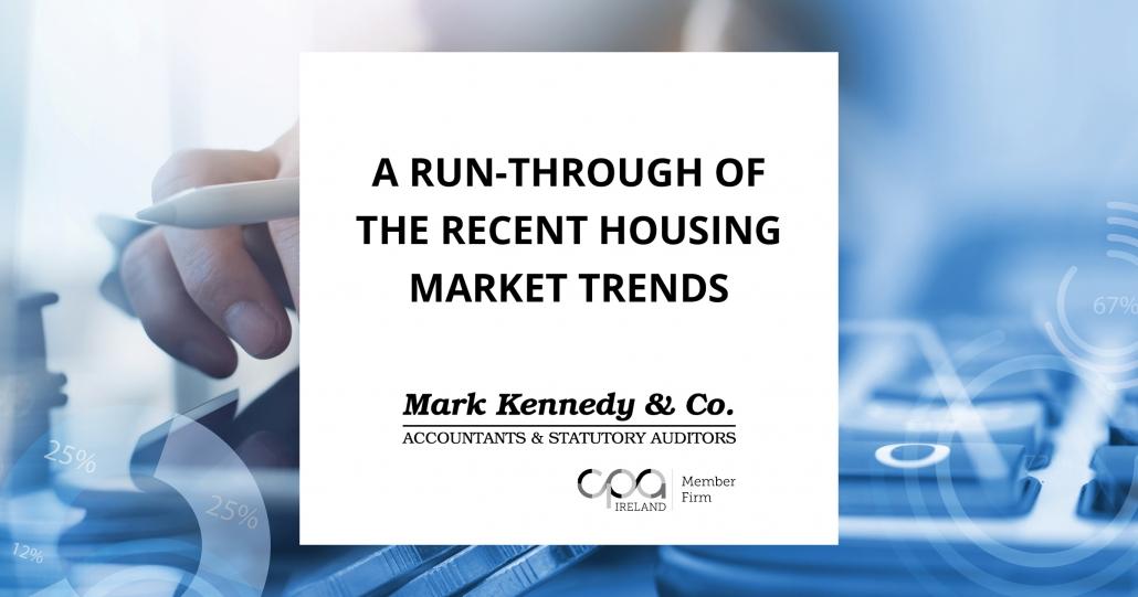 A run through of the recent housing market trends