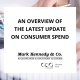 Overview on latest update on consumer spend